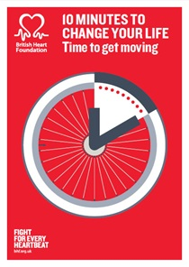 British Heart Foundation - Time to Get Moving