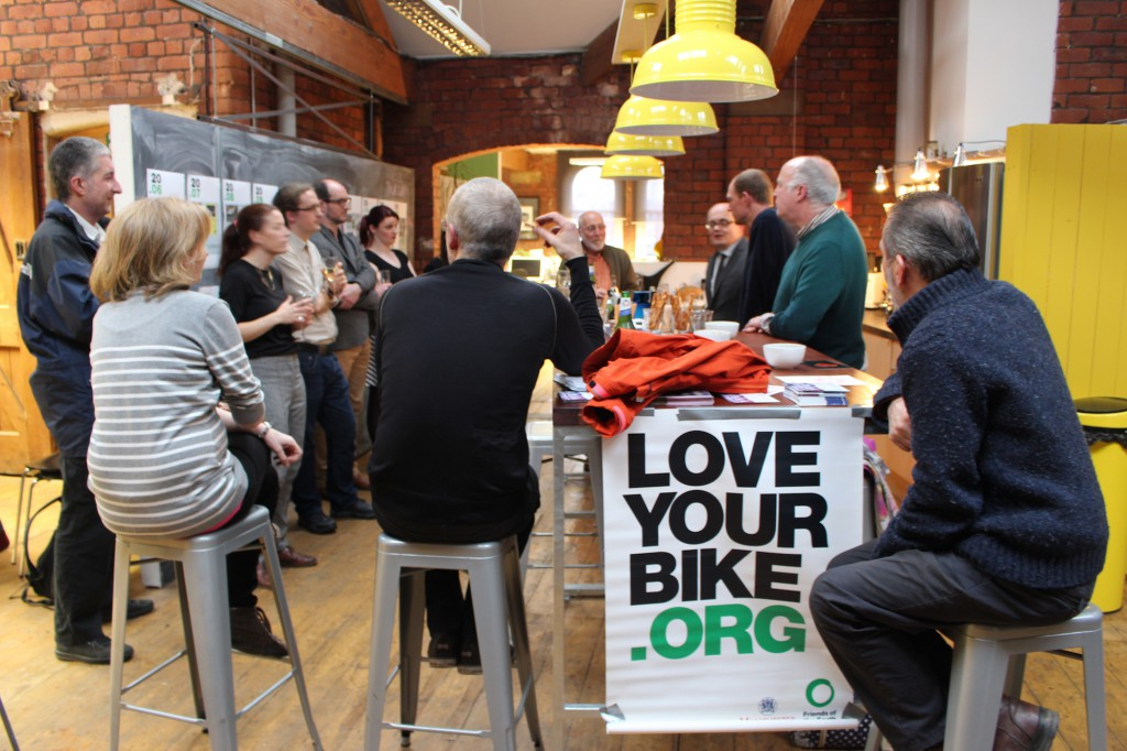 Discussing the future of cycling at Creative Concern