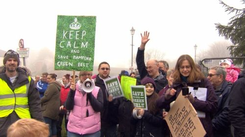 Opposition groups have sprung up across Greater Manchester Credit: ITV Granada