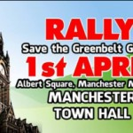 Save the GreenBelt Groups rally