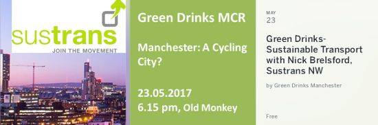 Green Drinks Mcr - Manchester a Cycling City