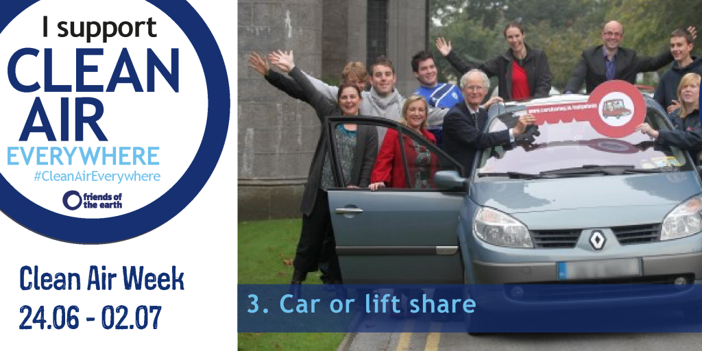Car or lift share