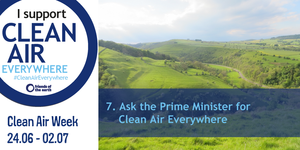 Ask the Prime Minister for Clean Air Everywhere