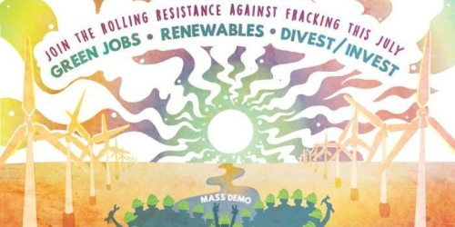 Manchester coach to Climate Jobs, Renewables + Divestment demo
