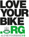 Love Your Bike 10th anniversary logo