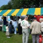 Mega Mela stall - July 2004