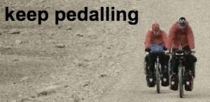 Keep Pedalling Logo