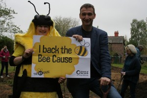 Manchester Withington MP John Leech backs our demand for a national Bee Action Plan
