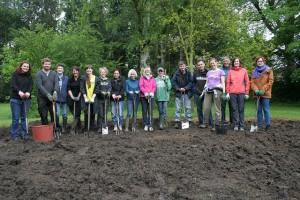 Team photo at Parrs Wood