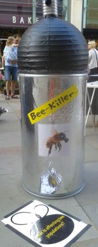 Stop using Bee-Killer (Tm) pesticides