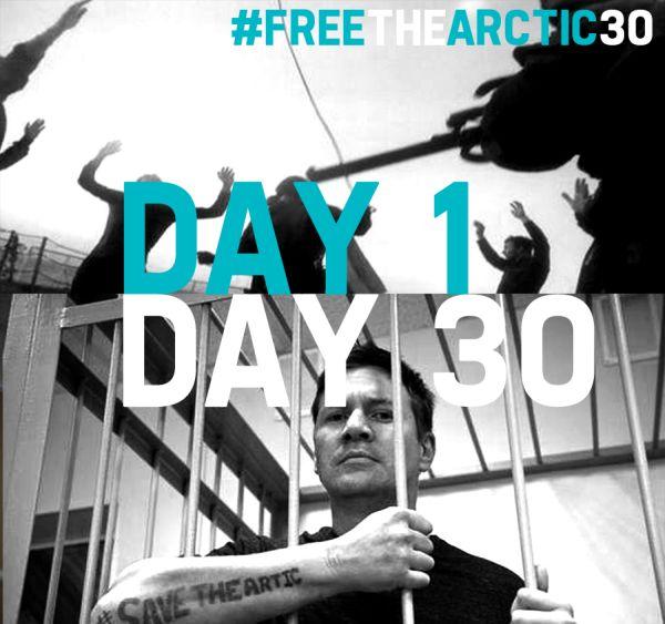 FreetheArtic30 Greenpeace