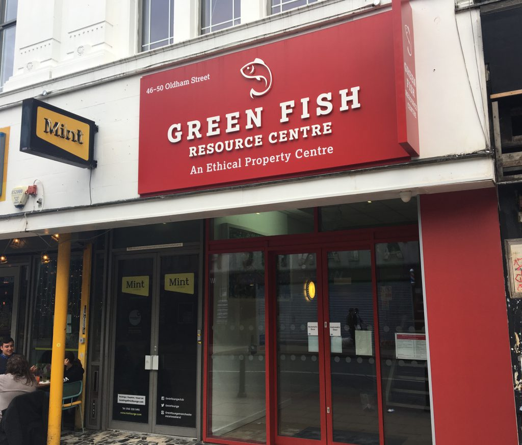 Green Fish Resource centre 46-50 Oldham St Manchester