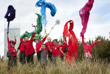 Kew Grow Wild - school children - scaled