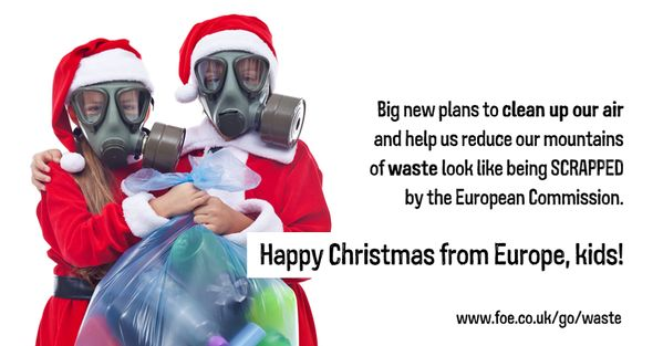 Happy Christmas from Europe
