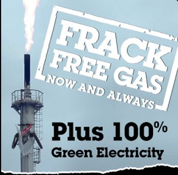 Ecotricity frack Free gas