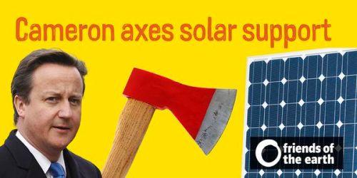 Cameron Axes Solar Support - 500