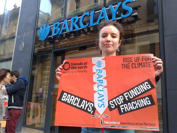 Stop Barclays Fracking - Tamara