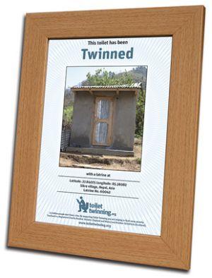 Twinned Toilet certificate