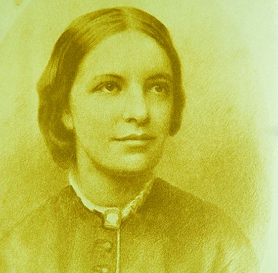 Pastel drawing of Octavia Hill © National Trust Images