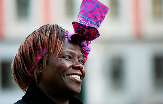 Wangari Maathai in Oslo © Green Belt Movement