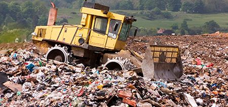 UK landfill site