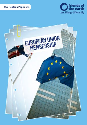 FoE position paper on European Union membership