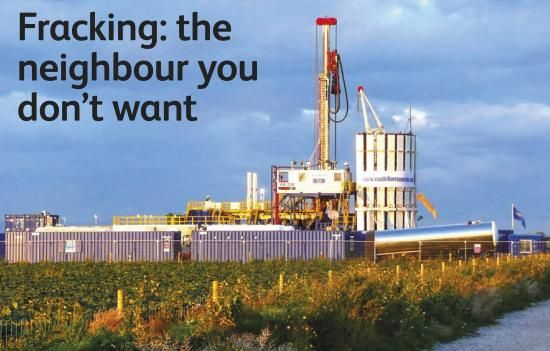 Fracking - the neighbour you dont want