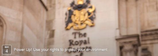 Power Up! Use your rights to protect your environment