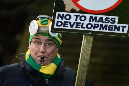 Save Stockport's Greenbelt - no to mass development
