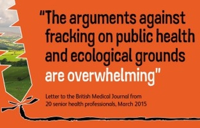 The arguments against fracking on public health and ecological grounds are overwhelming