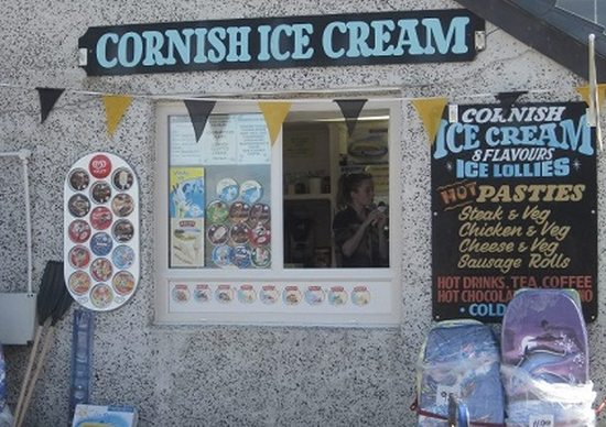 Ice cream shop, Sennen Cove, Cornwall. Image: Marie Reynolds