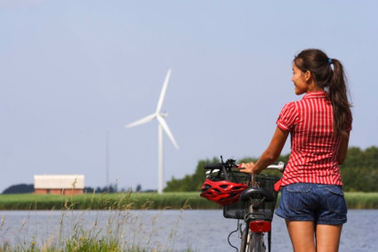 The Netherlands is great for relaxing cycling holidays. Image: Thinkstock