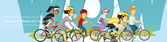 Women On Wheels 2017 Main Ride