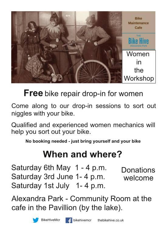Bike Maintenance Cafe - May - July