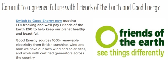 Commit to a greener future with Friends of the Earth and Good Energy