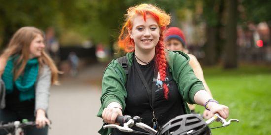 Danish-style Breakfast Bike Ride to the Whitworth Art Gallery - photo