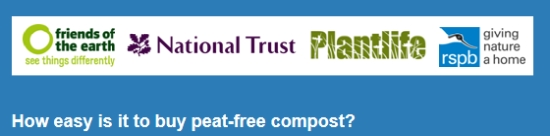 How easy is it to buy peat-free compost