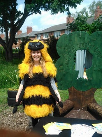 Manchester Friends of the Earth create fourth Bee World