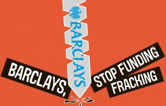 Barclays - Stop Funding Fracking - AGM action