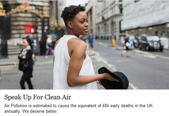 Client earth - Speak up for Clean Air