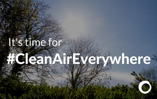 It's time for #cleanaireverywhere