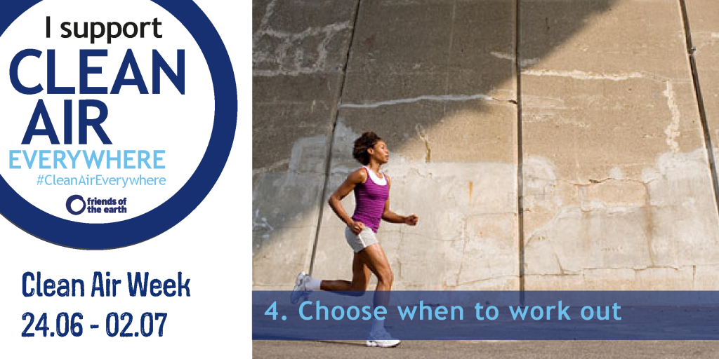 Choose when you work out