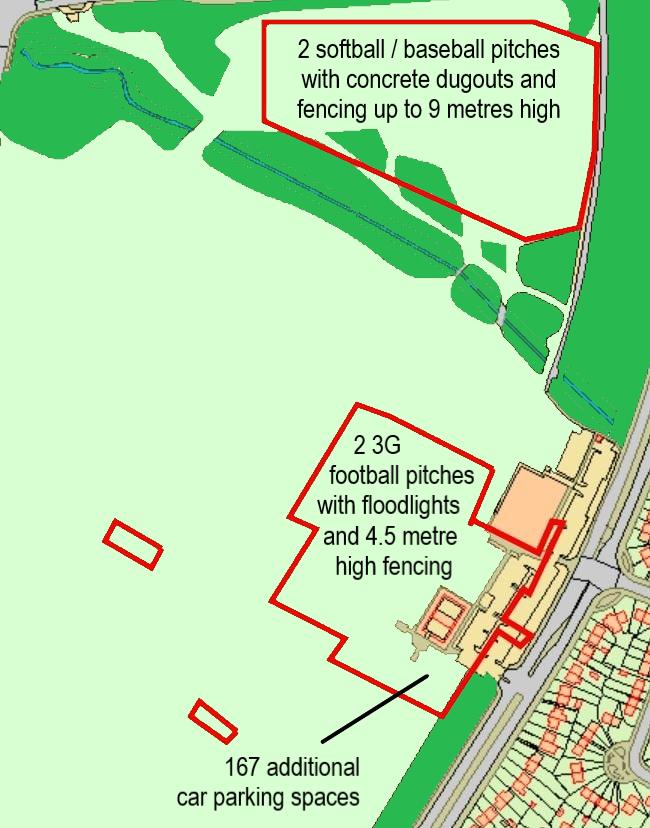 Hough End development plan